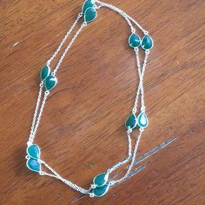 Zambian Emerald Hand made necklace